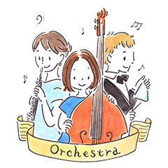 orchestra-stamp