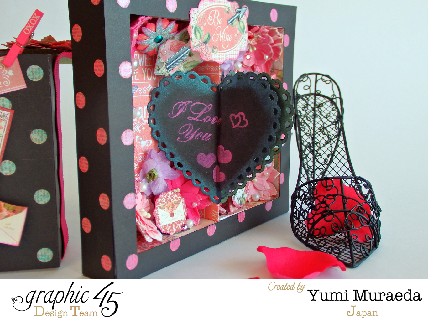 "Time to Flourish Valentine Box-Card ""XOXO""5"
