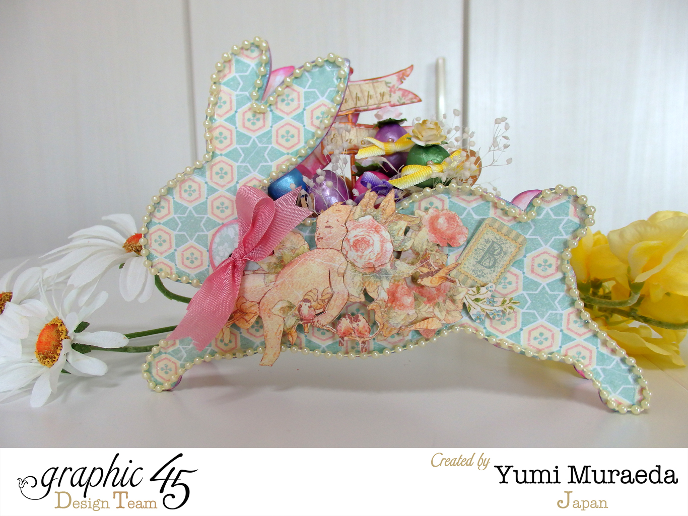 G45 Baby 2 Bride Easter Bunny Wagon and Mini Album2