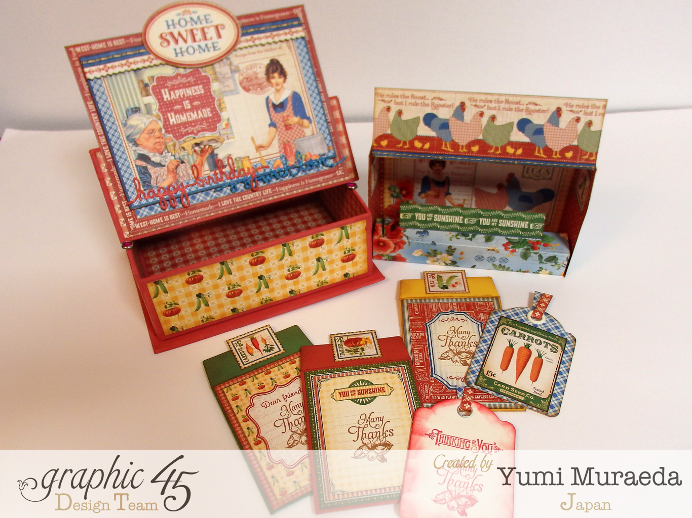 yuyu3CHAHome Sweet Home stand Card with Easel Box1