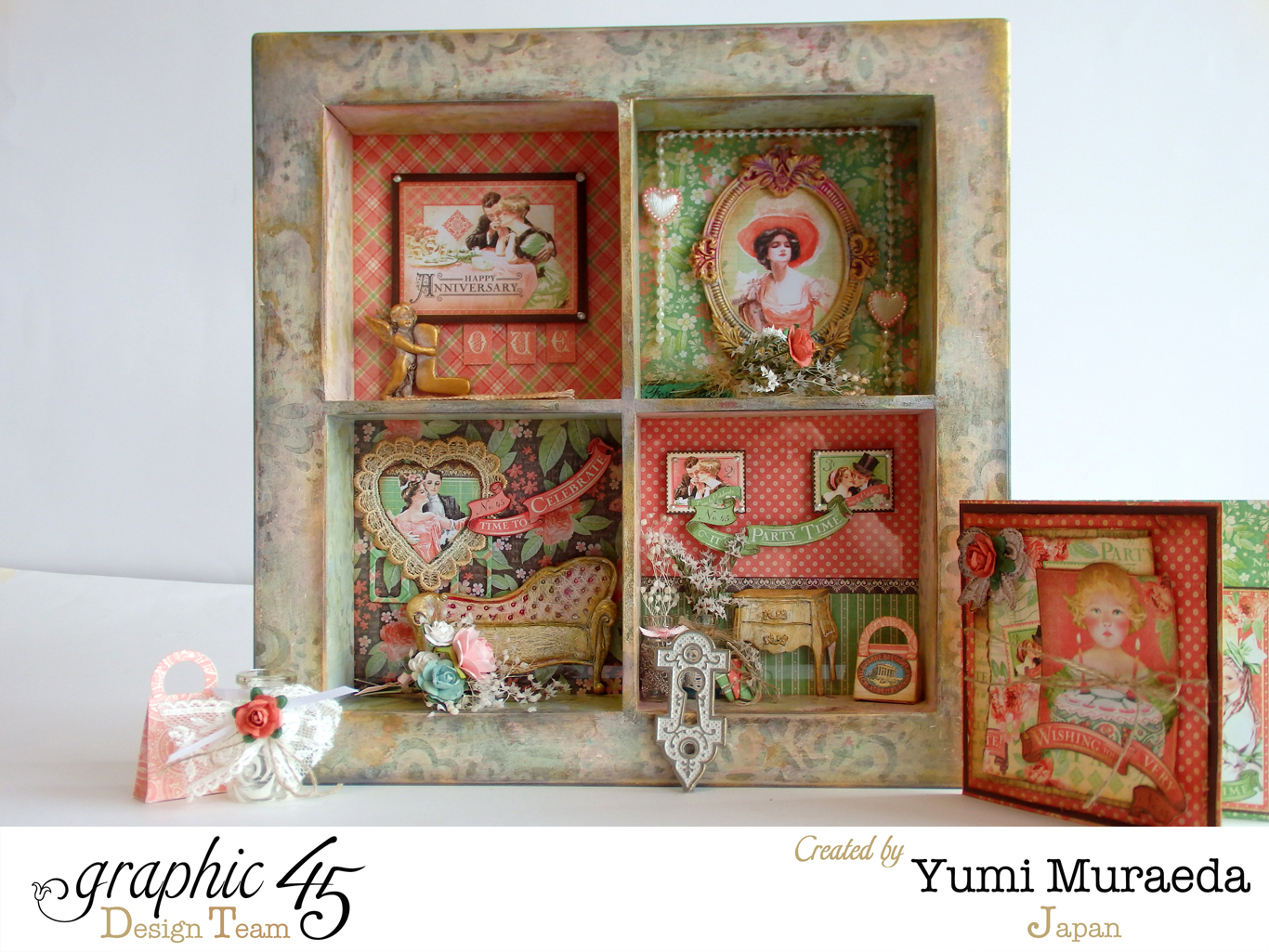 yuyu3Graphic 45 Time to Celebrate Shabby Chic Shadow9
