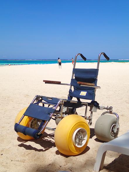 砂浜用車椅子
