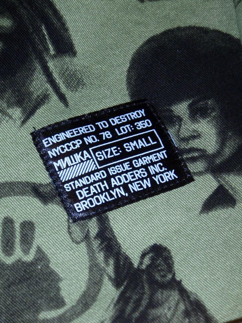 MISHKA Spring 2015 LS Button up Shirt SSUR STREETWISE ストリートワイズ 神奈川 湘南 藤沢 スケート ファッション ストリートファッション ストリートブランド