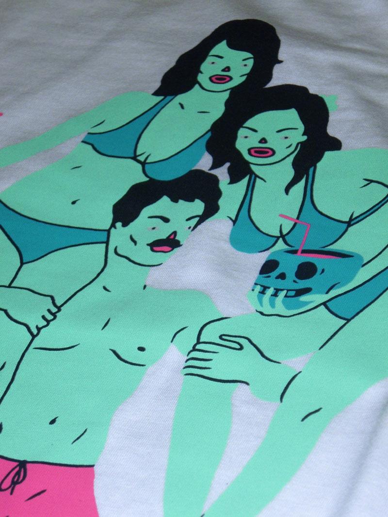 2015 Spring Summer ADDICT Tee Artist series Sean Morris UK ストリートワイズ Tシャツ アディクト 神奈川 藤沢 湘南 スケート ファッション ストリートファッション ストリートブランド