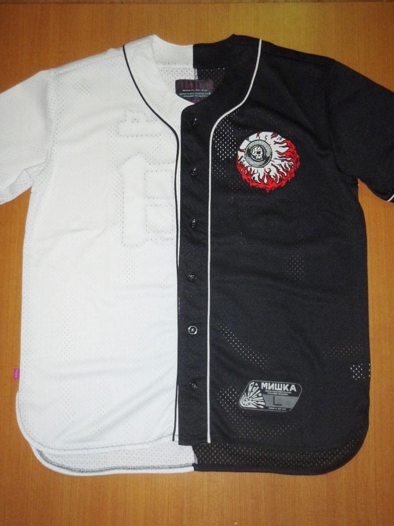 MISHKA Summer 2015 BASEBALL SHIRT ベースボールシャツ STREETWISE ストリートワイズ 神奈川 湘南 藤沢 スケート ファッション ストリートファッション ストリートブランド