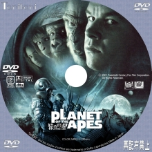 DVD/BDラベル PLANET OF THE AP...