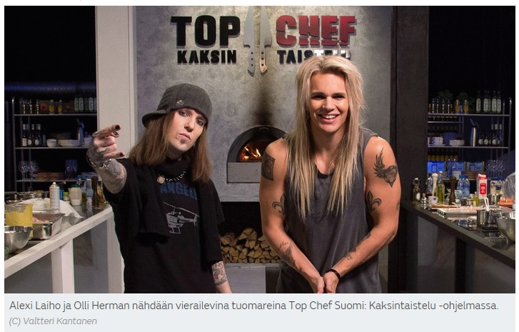 TOP Chef Alexi Olli