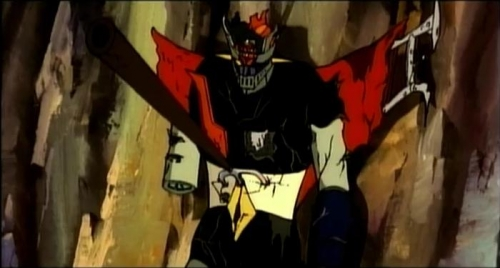 Mazinger z vs Dark Aga