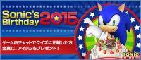 Sonics Birthday2015