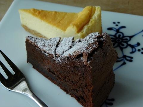 ガトーショコラ&ベイクドチーズケーキ