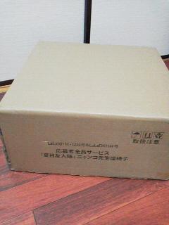 ニャンコ先生座椅子 (1)