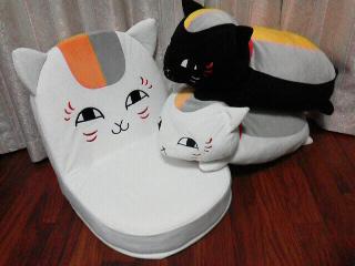 ニャンコ先生座椅子 (5)