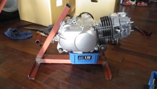 エンジンスタンドを作成する。 (4)