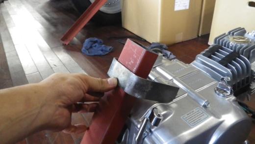 エンジンスタンドを作成する。 (6)