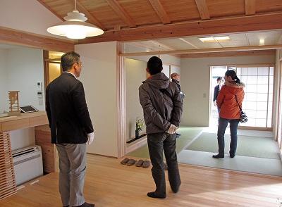 佐倉の平屋 完成見学会の様子