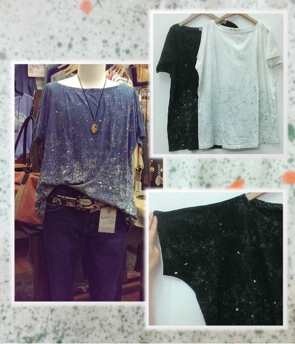 Shanti2 21508-011 スターシャワー ビッグTシャツ ¥3900+税