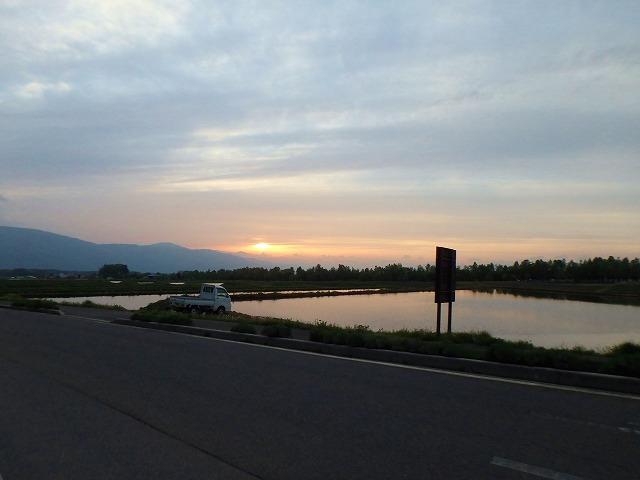 20150516富士見の夕陽 (2)