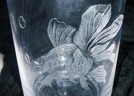 グラスリッツエン 金魚