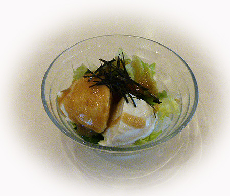 ミニお豆腐サラダ