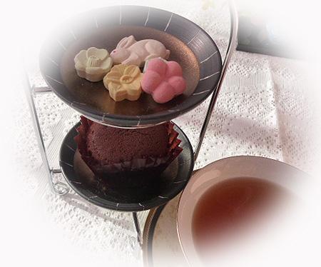 和三盆里の冬・チョコケ-キ