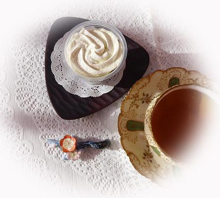 抹茶ババロア&ニルギリ