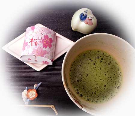 お抹茶&左近の桜