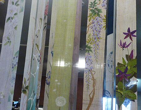 季節の細巾タペストリ-