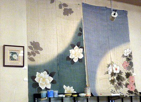 季節の暖簾