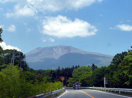今日は穏やかな浅間山
