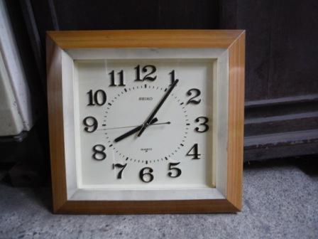 1時計取替2