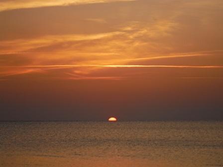石垣島 夕陽3