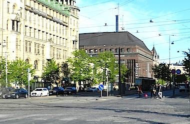 ヘルシンキの町並み