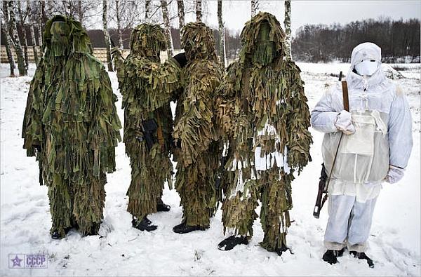 特殊部隊(スペツナズのスナイパー)image