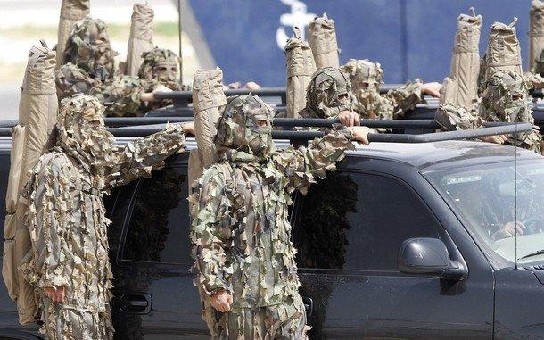 特殊部隊(たぶんヨルダンの)image
