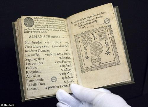 ノストラダムス(500年前の初版本)image
