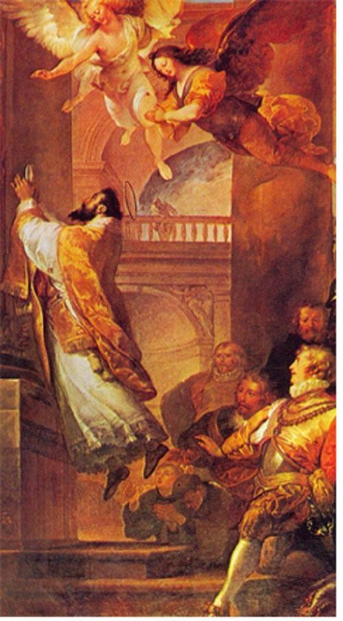 コペルティーノの聖ヨセフ(ミサ中に浮く)image
