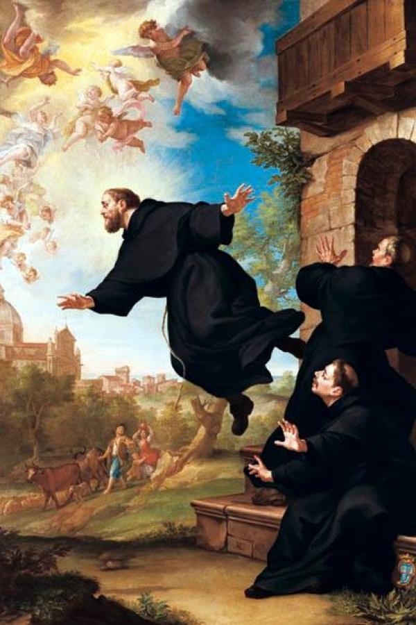 コペルティーノの聖ヨセフ(御絵)image