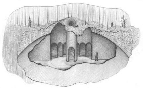 プロジェクトP(ロシア死の谷の構造物)image