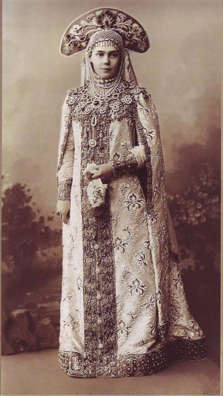故事(資料ロシアの婚礼衣装)image