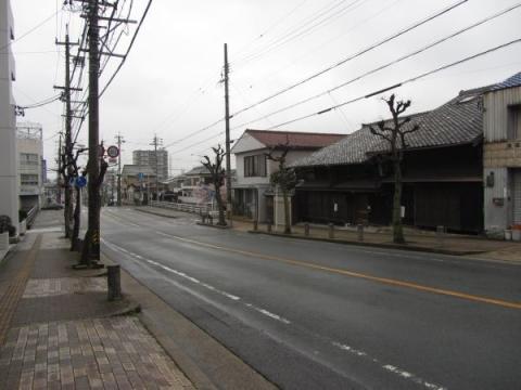 旧東海道 材木町