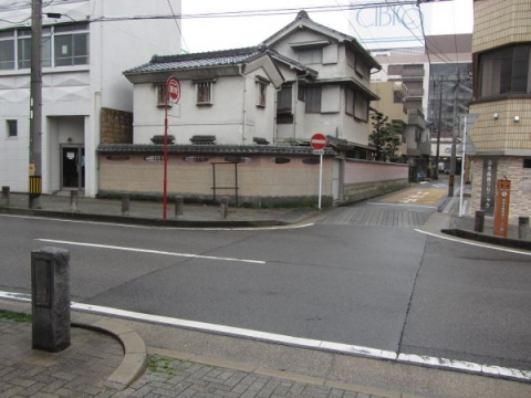 旧東海道 旧横町