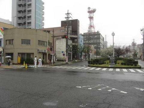 旧東海道 籠田町