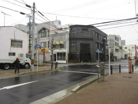 旧東海道・吉良道分岐点