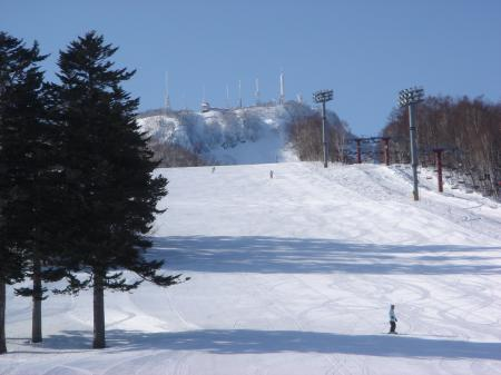 スキー日和は登山日和…