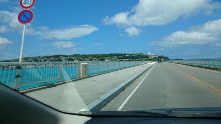 古宇利島へ続く橋