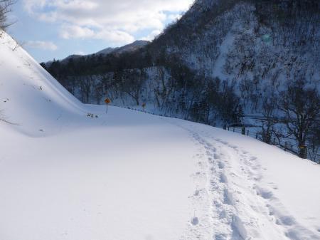 快適なスノーハイク~