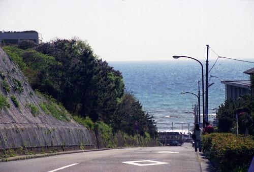 潮騒通り 鎌倉 七里ヶ浜