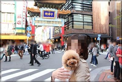 中華街にて