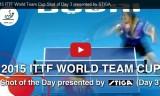 3日目最高のラリー! ワールドチームカップ2015