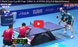 中国VSオーストリア(準決勝)ワールドチームカップ2015